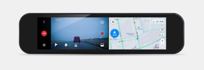 mi smart rearview mirror recorder