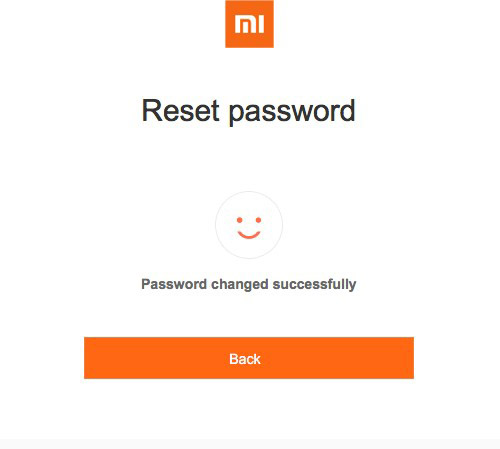 mi аккаунт забыл пароль