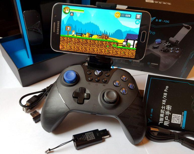 Xiaomi Feat Black Knight X8pro Gamepad