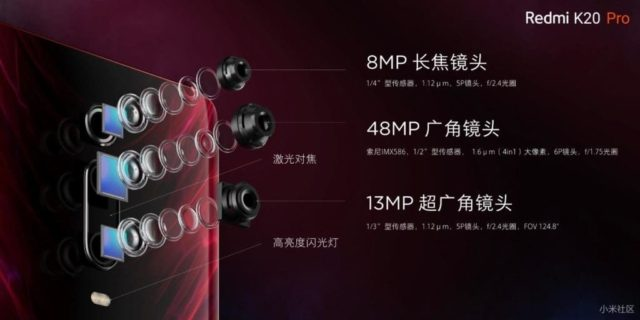 модули камеры K20 Pro