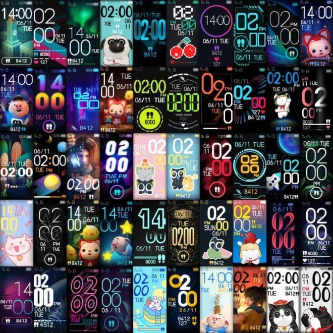 Циферблаты для Xiaomi Mi Band 4